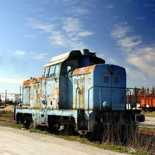 Free Old Diesel Locomotive Royalty Free Stock Images - 4604349