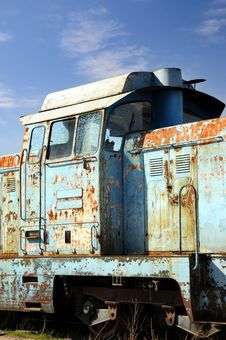 Free Old Diesel Locomotive Stock Photography - 4604362
