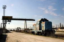 Free Old Diesel Locomotive Royalty Free Stock Images - 4604399