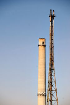 Free Industrial Towers Stock Photos - 4604563