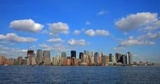 Free The Lower Manhattan Skyline Stock Photos - 4604723