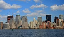 Free The Lower Manhattan Skyline Stock Images - 4604724