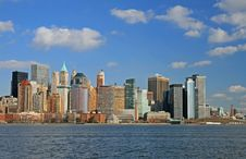 Free The Lower Manhattan Skyline Stock Photo - 4604730