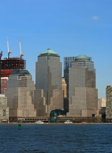 Free The Lower Manhattan Skyline Royalty Free Stock Photos - 4604738