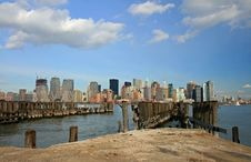 Free The Lower Manhattan Skyline Stock Photos - 4604743