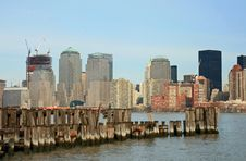 Free The Lower Manhattan Skyline Stock Images - 4604744
