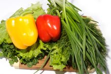 Free Yellow And Red Pepper Stock Images - 4604834