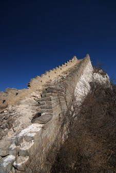 Free Dilapidated Of The Great Wall Royalty Free Stock Images - 4604839