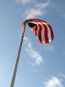 Free American Flag V1 Stock Image - 4604911