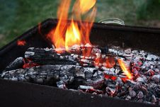 Free Burning Embers Stock Images - 4605344