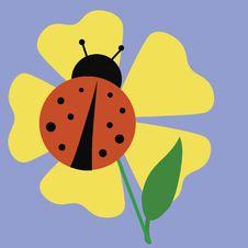 Free Ladybug Garden Royalty Free Stock Photo - 4605445