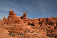 Free Arches National Park 223 Royalty Free Stock Images - 4606339