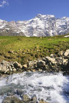 Free Alpine Stream Stock Image - 4606661
