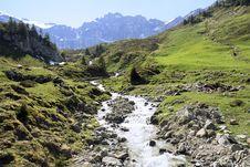 Free Alpine Stream Stock Photography - 4606682