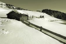 Free Winter Landscape Royalty Free Stock Photo - 4606695