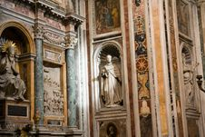 Free Basilica Santa Maria Maggiore Detail Royalty Free Stock Photography - 4606737