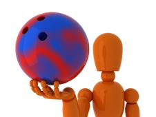 Free Bowling For You. Stock Photography - 4606862