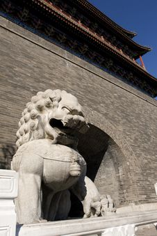 Free Beijing - Front Gate Stock Photos - 4607443