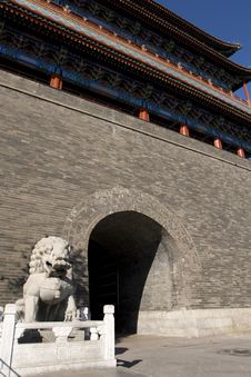 Beijing - Front Gate Royalty Free Stock Image