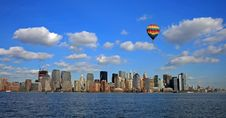 Free The Lower Manhattan Skyline Royalty Free Stock Images - 4607799