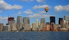 Free The Lower Manhattan Skyline Stock Photo - 4607810