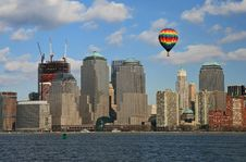 Free Lower Manhattan Skyline Royalty Free Stock Images - 4607819