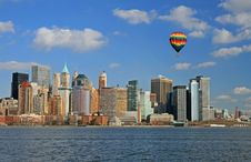 Free The Lower Manhattan Skyline Stock Images - 4607824