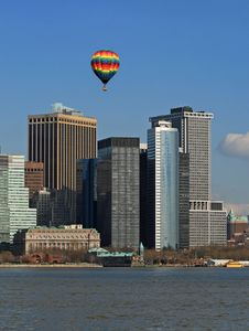 Free The Lower Manhattan Skyline Royalty Free Stock Image - 4607896