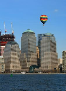Free The Lower Manhattan Skyline Royalty Free Stock Photo - 4607905