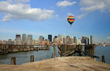 Free The Lower Manhattan Skyline Stock Image - 4607981