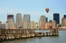 Free The Lower Manhattan Skyline Stock Images - 4608004