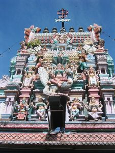 Free Colorful Hindu Temple Stock Images - 4608524
