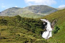 Free Waterfall Isle Of Skye Stock Photography - 4608892
