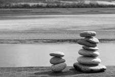 Free Stacked Stones Stock Photos - 4609093