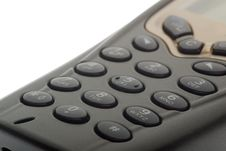 Free Cellphone Keypad Stock Image - 4609181