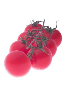 Free Bunch Of Cherry Tomatoes Royalty Free Stock Image - 4609196