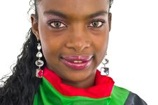 Free Nice African Girl Royalty Free Stock Photo - 4609305