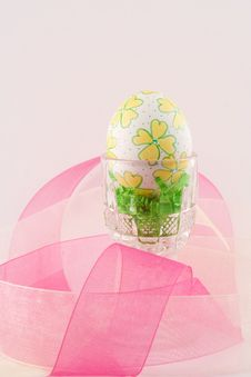 Free Hand Decorated Easter Egg III Royalty Free Stock Image - 4609316