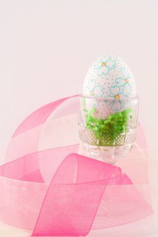 Free Hand Decorated Easter Egg II Stock Photography - 4609322