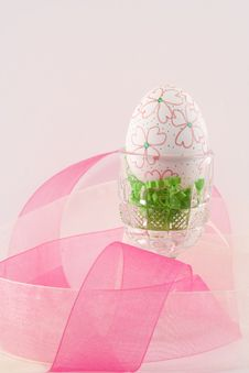 Free Hand Decorated Easter Egg I Stock Photography - 4609332