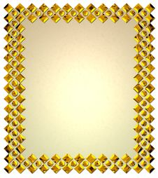 Free Golden Frame Royalty Free Stock Images - 4609979