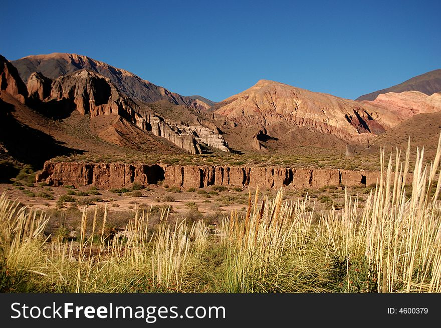 Colourful Mountainscape