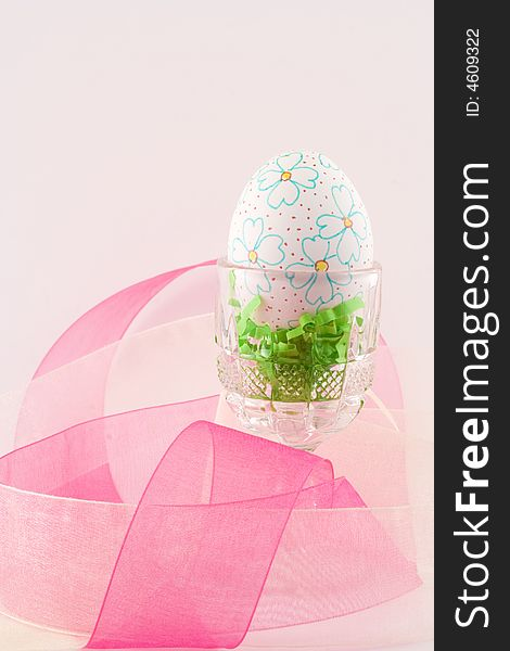 Hand decorated Easter egg II
