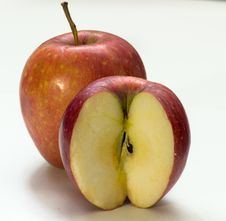 Free Apple By Foxovsky Royalty Free Stock Photography - 46080547