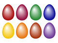Free Color Easter Eggs Royalty Free Stock Photos - 4616228