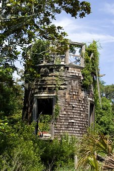 Free Ruined Overgrown Tower Stock Photos - 4610883