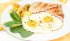 Free Breakfast Eggs Royalty Free Stock Images - 4610889