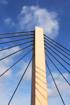 Free Suspension Bridge (1) Stock Photo - 4610900