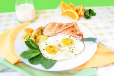 Free Breakfast Eggs Stock Photos - 4611023