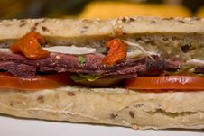 Free Sandwich With Vegetables Royalty Free Stock Photos - 4611178